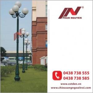 Cột đèn sân vườn Banian DC07 - siêu phẩm của cuộc sống hiện đại