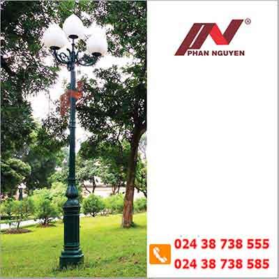 cột đèn sân vườn dc 05b
