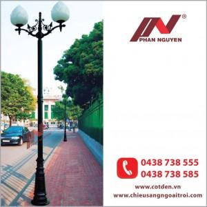 Đèn cầu hoa sen tại Phan Nguyễn