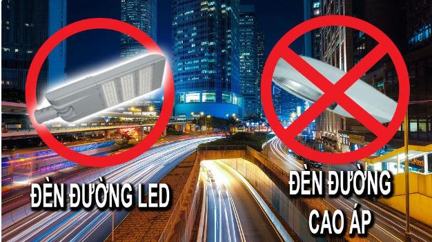 Sử dụng Đèn Led cao áp thay đèn cao áp thông thường rất phổ biến hiện nay
