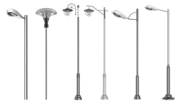 Phan Nguyễn cung cấp đa dạng các mẫu cột đèn cao áp