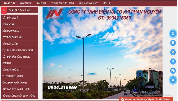 Dây cáp điện và phụ kiện Phan Nguyễn