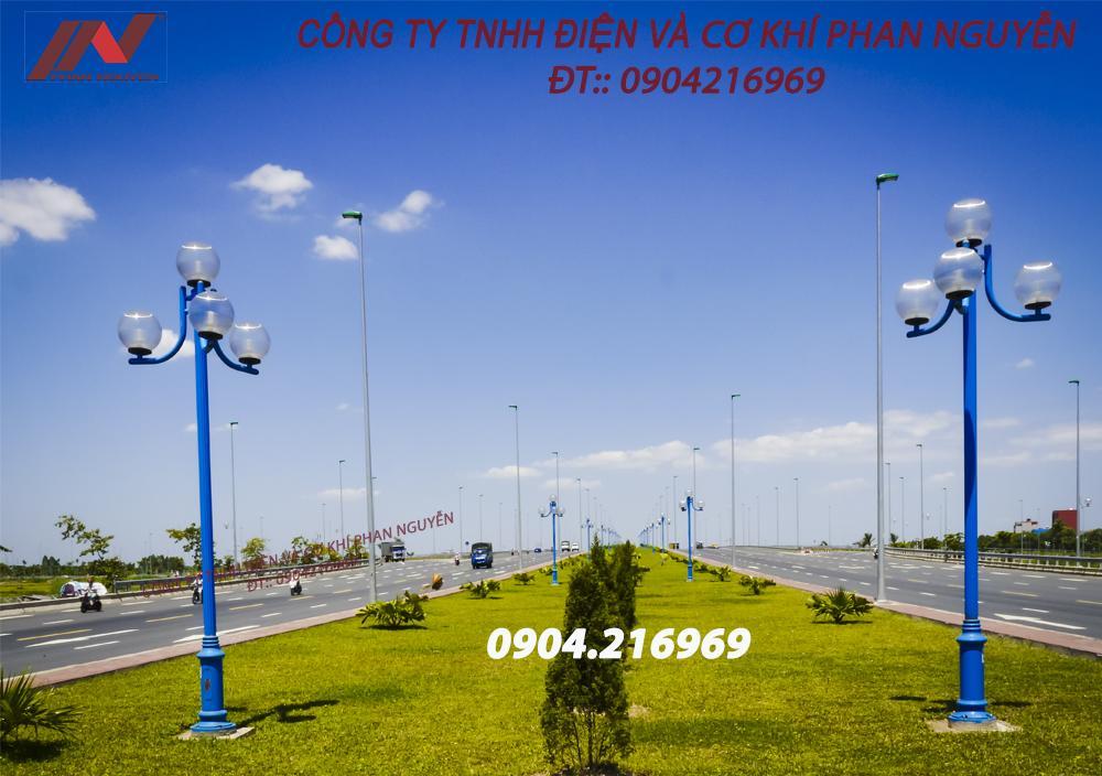Phan Nguyễn - địa chỉ cung cấp cột đèn cao áp tại Quảng Nam chất lượng, giá tốt