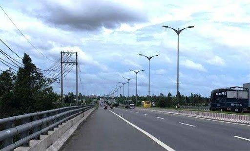 Cột đèn cao áp tại Ninh Bình