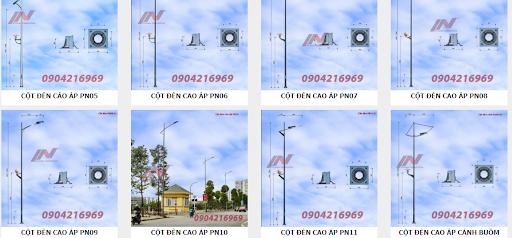Cột đèn cao áp Phan Nguyễn đa dạng về kiểu dáng và thiết kế