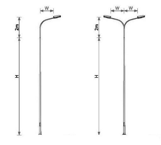 Sản phẩm cột đèn cao áp của chúng tôi luôn được đảm bảo về chất lượng