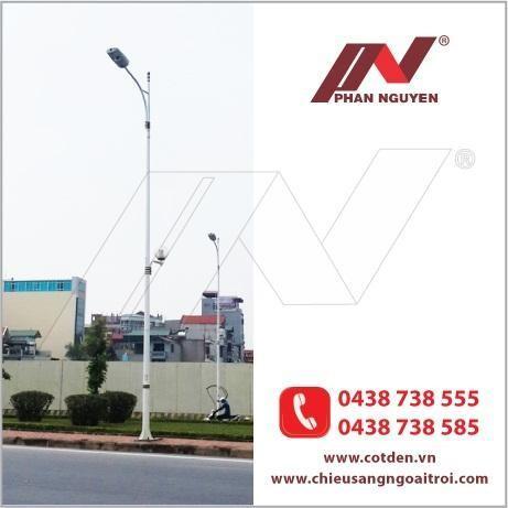 Cột đèn cao áp được sử dụng ngày một nhiều tại Bắc Ninh